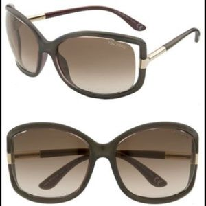 Tom Ford Anais Open Temple Sunglasses w/Case